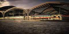20180408-20180408_191054-Bearbeitet (tosakan2000) Tags: architektur cologne stadt köln city railway station train ice