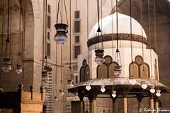 Hasan Madrasa, Cairo. Inner courtyard. (Roberto Bendini) Tags: lamps courtyard hasan madrasa egypt egitto cairo luxor temple