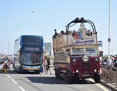 88 Years Apart (michaelamos187) Tags: happy harold guy dodson trolleybus stagecoach adl enviro 400 mmc sn66vwb 10713 hastings may day