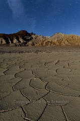 Extraterrestrial (pdxsafariguy) Tags: usa california deathvalley night desert furnacecreek playa mud crack cracked abstract dry landscape nature mountain geology sky formation clay pattern nationalpark lines usnationalpark stars astronomy tomschwabel
