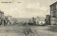 Minnedosa - Main Street, 1909 (vintage.winnipeg) Tags: manitoba canada vintage history historic minnedosa