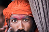The piercing eyes of a Sadhu in Varanasi, Indonesia. (cookiesound) Tags: india varanasi travel travelphotography documentary canon nisamaier ullimaier travelphotographer cookiesound sadhu portrait eyes hinduism jogi piercingeyes man life people