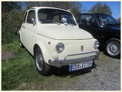 Fiat 500 L, 1976 (v8dub) Tags: fiat 500 l 1976 allemagne deutschland germany niedersachsen debstedt italian pkw voiture car wagen worldcars auto automobile automotive youngtimer old oldtimer oldcar klassik classic collector