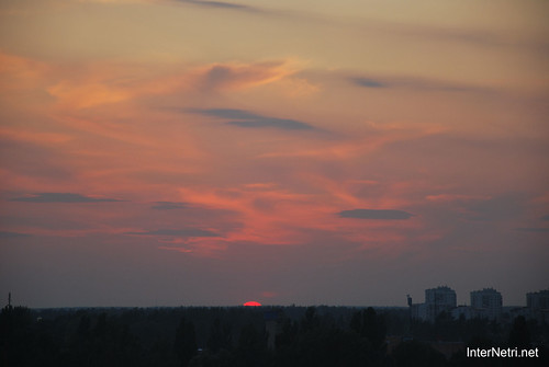 Небо Захід сонця InterNetri Ukraine  11