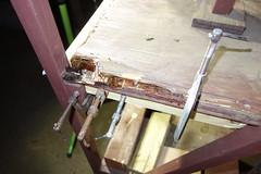 20180404_2121_445_RainBarrel_Tower (EasyAim) Tags: 2018 rainbarreltower repair rotted wood colleyville usa