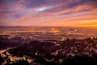 Sunset Over the San Francisco Bay