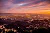 Sunset Over the San Francisco Bay (Thomas Hawk) Tags: america baybridge eastbay grizzlypeak oakland usa unitedstates unitedstatesofamerica bridge sunset fav10 fav25 fav50 fav100