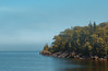 Artists' Point, Grand Marais - Minnesota's North Shore of Lake Superior (Tony Webster) Tags: artistspoint grandmarais greatlakes lakesuperior minnesota northshore fog foggy forest rocks rocky summer