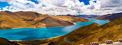羊卓雍湖 (羊卓雍措) (sunnyha) Tags: 羊卓雍湖 yamdroklake tibet tibetautonomousregion china chinese chinalandscape sky blueskyandwhitecloud mountain mount water lake landscape landschap nature nopeople color colours photographier tibetanculture sony sunnyha sunny sonyilce7m3 sonyfe24240mmf3563 a7m3 中国 中國 摄影 写真 西藏 羊卓雍措