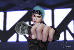 Mic Drop (Yoon-gi) Tags: sl model boy korean suga art photography dark bad angelical photocontest contest photo photoshop edit mesh bento catwa gianni signature daniel pose shirtless man male avatar avi secondlife second life virtual digital animal retrato straydog minyoongi yoongi micdrop mic drop