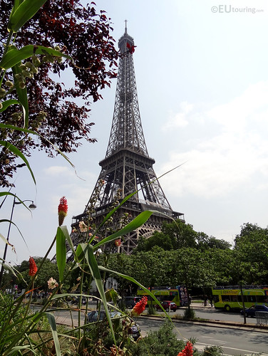 The Eiffel over roads