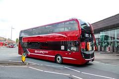 Warrington's Own Buses YX67UZB (Mike McNiven) Tags: warrington dallam warringtonsownbuses networkwarrington alexanderdennis enviro400 enviro400mmc demonstration demo doubledecker cheshire e400