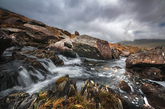 Flow (Einir Wyn Leigh) Tags: landscape water stream river wales clouds weather rocks rugged love outside walking mountains colorful spring