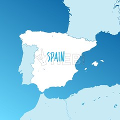 [Two-toned Maps] Spain Vector Map (Hebstreits) Tags: abstract administrative art background black blue border card cartography catalonia city color concept contour country design europe european flag geography graphic gray grey icon icons illustration islands isolated kingdom land line madrid map national outline paper political provinces region shape sign silhouette spain spanish state symbol travel vector white