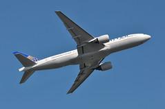 UA0900 LHR-SFO (A380spotter) Tags: takeoff departure climb climbout bank banking turn belly boeing 777 200er n206ua ship2706 united unitedairlinesinc ual ua ua0900 lhrsfo runway09r 09r london heathrow egll lhr