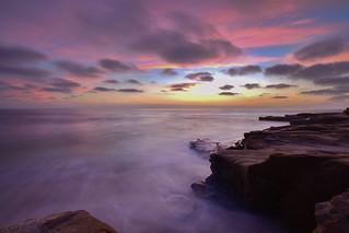 Colourful hour, Windansea Beach, Califonia