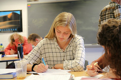 IMG_7083 (proctoracademy) Tags: academics algebra2 classof2019 hollenbaughanna math