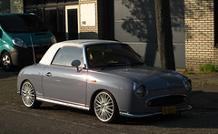 1991 Nissan Figaro 1.0 Turbo (rvandermaar) Tags: 1991 nissan figaro 10 nissanfigaro sidecode9 hb850g rvdm