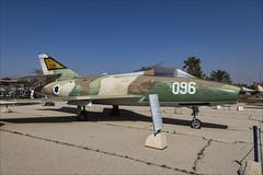 Dassault Sa'ar B2 - 2 (NickJ 1972) Tags: israel israeli air force museum hatzerim iaf idf iasf 2018 aviation dassault saar super mystere b2 096