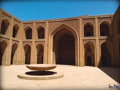 The Abbasid palace (Sam Petar) Tags: iraq baghdad mobile huawei blue sky abbasi palace