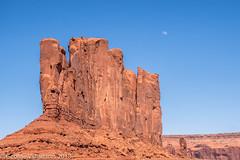 Moon Over Monument Valley (gvall66) Tags: arizona az d500 monumentvalley navajo navajocounty nikon utah nikon18140