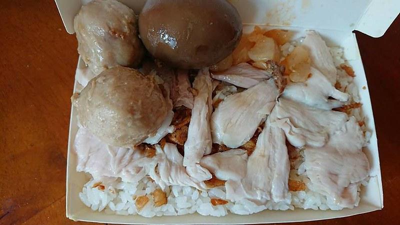 頂吉古早味火雞肉飯
