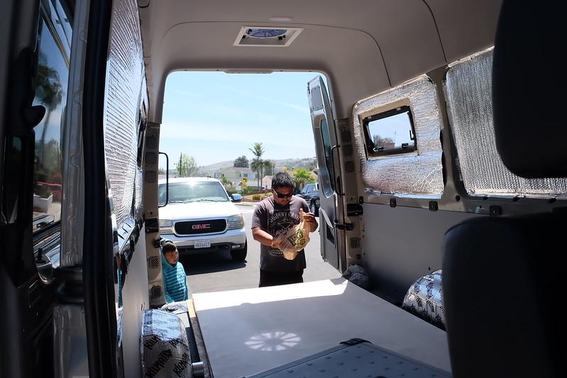 Sprinter van build day 15 042318