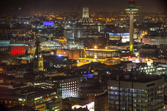 Liverpool Views (jennchanphotography) Tags: liverpool uk unitedkingdom england britain jennchanphotography nightphotography city buildings night lights tourism travel tourist