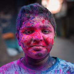 Mr red (shravann93) Tags: nikon nikonasia nikonindia asia india portrait colours holi2018 holi 2018 50mmf18 nikond700 travel festival natgeo ngc shravann93