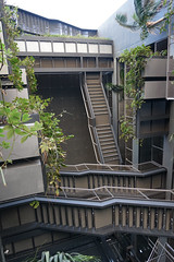 2018-04-FL-183518 (acme london) Tags: barcelona bridges corridor fira fireescape hotel jeannouvel landscape planting renaissancehotelfira spain stairs staricase
