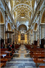 Rom – San Luigi Dei Francese/Church of St. Louis of the French (Stefan Wirtz) Tags: rom rome italien italy italia europa europe kirche church eglise chiesa sanluigideifrancese stluisofthefrench romanesque romanisch barock baroque baroquechurch eglisedebaroque ceeiling altar