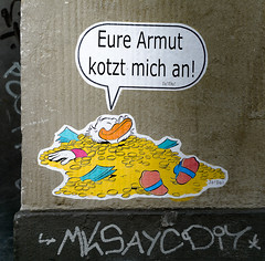 HH-Wheatpaste 3698 (cmdpirx) Tags: hamburg germany reclaim your city urban street art streetart artist kuenstler graffiti aerosol spray can paint piece painting drawing colour color farbe spraydose dose marker stift kreide chalk stencil schablone wall wand nikon d7100 paper pappe paste up pastup pastie wheatepaste wheatpaste pasted glue kleister kleber cement cutout
