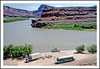 Launching a Raft Trip on the Colorado in Utah - 1989 (sjb4photos) Tags: utah coloradoriver epsonv500 geotagged westernriverexpeditions greatshot
