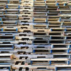 Wooden pallets (Tim Ravenscroft) Tags: wooden wood pallets art museum massachusetts hasselblad hasselbladx1d x1d