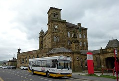 Keighley (Andrew Stopford) Tags: v542jbh dennis dart slf plaxton pointer transdev keighleybusco eclipsetraining sovereign