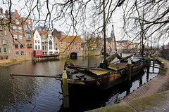 Delfshaven (YY) Tags: rotterdam netherlands canal delfshaven boat