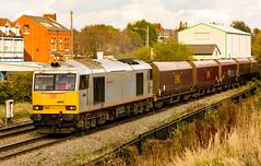 Silver (darkprince66 (Tug Chasing Super Hero :D)) Tags: warrington dbschenker tatasteel tug class60 60099 railway train locomotive