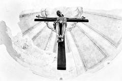 cross (LinusVanPelt ) Tags: costieraamalfitana gdg cross jesus bw amalfi campania italy it