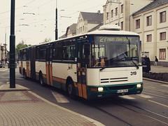 Liberec (Ellenalu86) Tags: liberec tschechien czech reisen traveling bus karosa verkehr transport öffentlicherverkehr publictransport gelenkbus phototraveller snapshot
