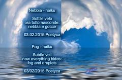 Nebbia – haiku (Poetyca) Tags: featured image haiku di poetyca