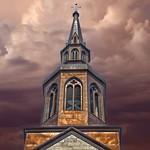 Plattsburgh  New York - St Peter's Church - Historic thumbnail