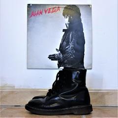 Alan Vega - 1981 - Celluloid (Moutrecords) Tags: shoes docmartens lp jukeboxbabe martinrev suicide celluloid 1981 alanvega