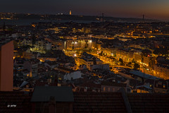 Miradouro da Nossa Senhora do Monte (hph46) Tags: lissabon miradouro portugal lisboa sunset rossio city riotejo sony alpha6500 lights sonnenuntergang nossasenhoradomonte