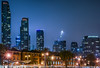 south beach skyline (pbo31) Tags: sanfrancisco city urban california night dark color april 2018 spring boury pbo31 nikon d810 southbeach embarcadero skyline construction crane fog blue
