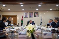 جلالة الملك عبدالله الثاني يزور سلطة منطقة العقبة الاقتصادية الخاصة ويترأس اجتماعا لمتابعة تقدم سير العمل في عدد من المشاريع الاستراتيجية في العقبة (Royal Hashemite Court) Tags: kingabdullahii aqaba jordan aseza special economic zone authority