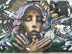 More art in Wynwood Walls Miami.