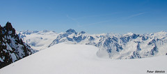 Sulztalferner, wilde Leck and Kuhscheibe from Kühlenkarscharte (peter-goettlich) Tags: winnebachseehütte österreich tirol gletscher berg schnee