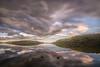 Reflejos y simetrías (Victor Aparicio Saez) Tags: agua atardecer cielo cieloespectacular embalsedelajarosa filtrond forest fotoconamparohervella landscape largaexposición luznatural montañas naturaleza nature nubes paisaje pantano reflejos ski sunset verde water árboles