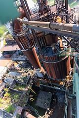 Kurzbesuch auf der Henrichshütte in Hattingen (clickraa) Tags: hattingen henrichshütte hochofen blast furnace plant industrial culture route der industriekultur ruhrgebiet