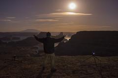 Moonlight Selfie (ToxicTabasco) Tags: alstrompoint selfie fullmoon landscape